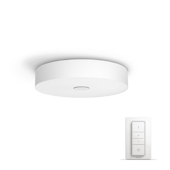 Philips HUE AMBIANCE WHITE FAIR Ceiling Light LED white, 1-light source, Remote control