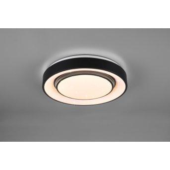 Reality MONA Ceiling Light LED black, 1-light source, Colour changer