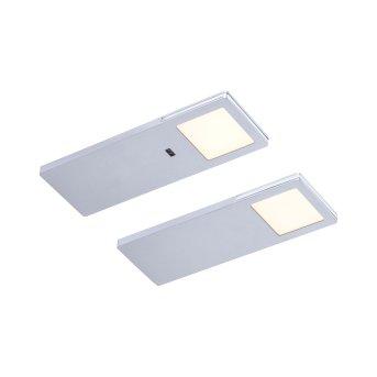 Paul Neuhaus AMON under cabinet light LED silver, 2-light sources, Motion sensor