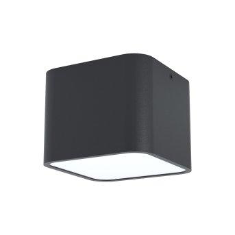 Eglo GRIMASOLA recessed light black, 1-light source