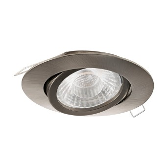 Eglo TEDO recessed light LED matt nickel, 1-light source
