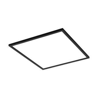 Eglo SALOBRENA Ceiling Light LED black, 1-light source, Colour changer