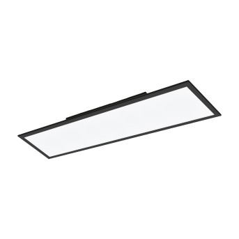 Eglo SALOBRENA Ceiling Light LED black, 1-light source, Colour changer