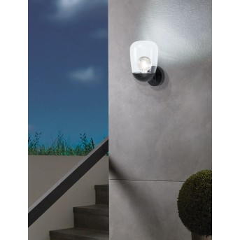 Eglo DONATORI Outdoor Wall Light black, 1-light source