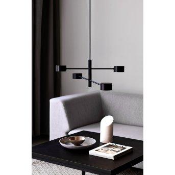 Nordlux CLYDE Pendant Light LED black, 4-light sources
