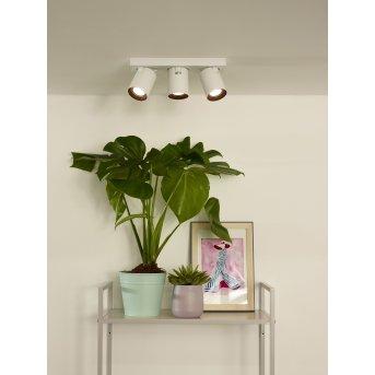 Lucide NIGEL ceiling spotlight LED white, 3-light sources