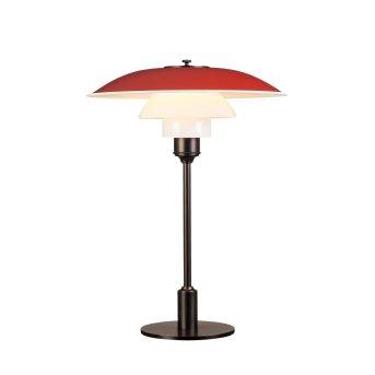 Louis Poulsen 3½-2½ Table Lamp red, 1-light source