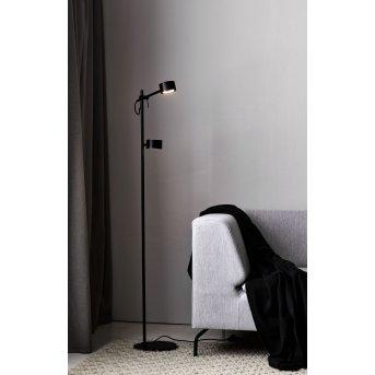 Nordlux CLYDE Floor Lamp LED black, 2-light sources
