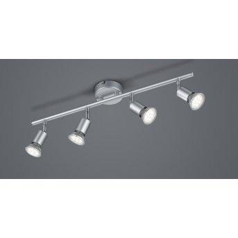 Reality Paris Ceiling Light titanium , 4-light sources