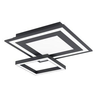 Eglo SAVATARILA Ceiling Light LED black, 1-light source, Colour changer