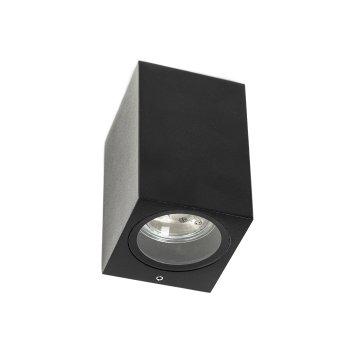 KS Verlichting GEO Outdoor Wall Light black, 1-light source
