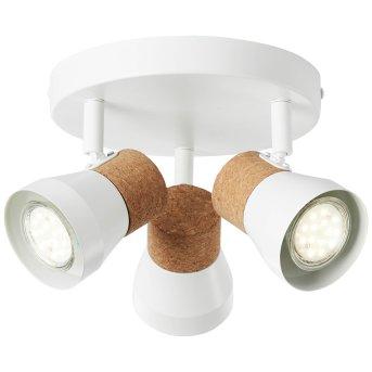 Brilliant MOKA Spotlight white, 3-light sources
