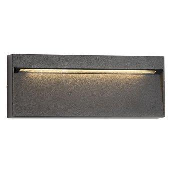 KS Verlichting SHADOW Outdoor Wall Light LED black, 1-light source