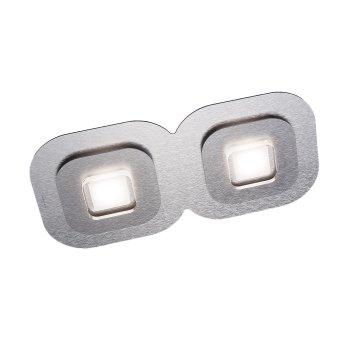 Grossmann AP Ceiling Light LED grey, aluminium, 2-light sources