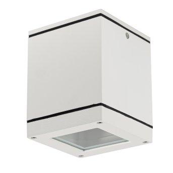 KS Verlichting SIGMA outdoor ceiling light white, 1-light source