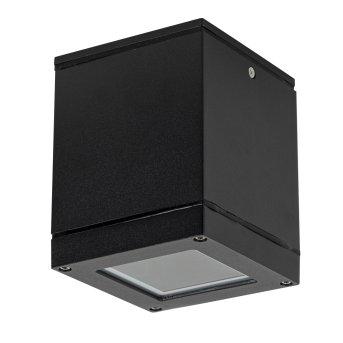 KS Verlichting SIGMA outdoor ceiling light black, white, 1-light source