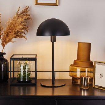 TOM KINGS Table lamp black, white, 1-light source