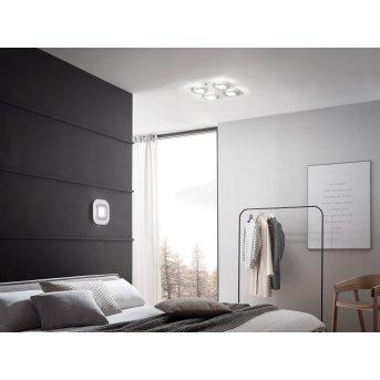 Grossmann AP Ceiling Light LED grey, aluminium, 4-light sources