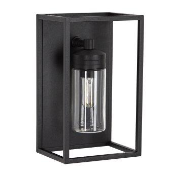 KS Verlichting HUDSON Outdoor Wall Light black, 1-light source