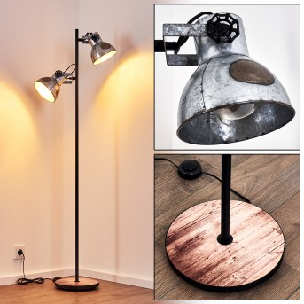 Hora Floor Lamp black, 2-light sources