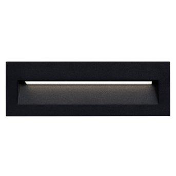 KS Verlichting SLICE Outdoor Wall Light LED black, 1-light source
