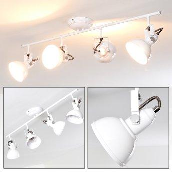 TINA ceiling light white, 4-light sources