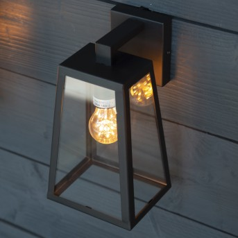 KS Verlichting LUUK Outdoor Wall Light black, 1-light source