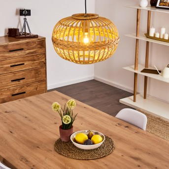 EGEDE Pendant Light brown, 1-light source