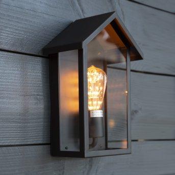 KS Verlichting CASA Outdoor Wall Light black, 1-light source