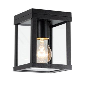 KS Verlichting HUIZEN Outdoor Wall Light black, 1-light source