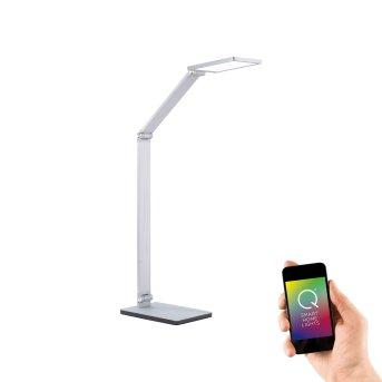 Paul Neuhaus Q-HANNES Table lamp LED silver, 1-light source, Remote control