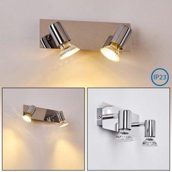 SIBARCO Wall Light chrome, 2-light sources
