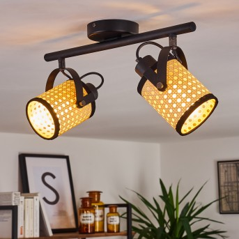 BROEKERHAVEN Ceiling Light black, 2-light sources