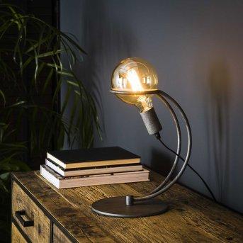OSTUNI Table lamp silver, 1-light source