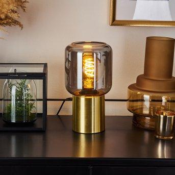KEPPOCH Table lamp gold, 1-light source