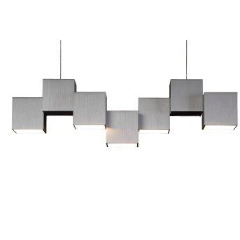 Grossmann ROCKS Ceiling Light LED aluminium, 5-light sources