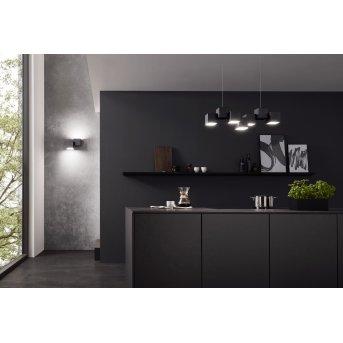Grossmann ROCKS Ceiling Light LED black, 5-light sources
