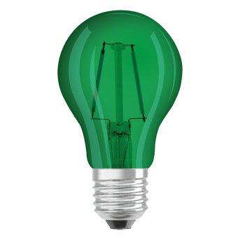 Osram LED E27 2 Watt Grün 50 Lumen