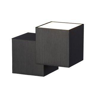 Grossmann ROCKS Wall Light LED black, 2-light sources
