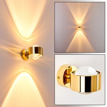 SAPRI Wall Light gold, 1-light source