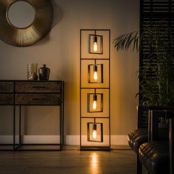 MARCON Floor Lamp black, 4-light sources