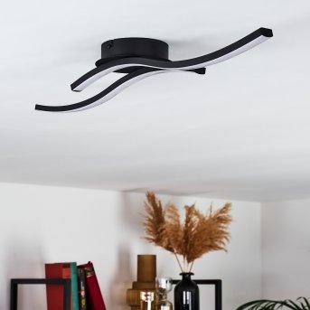 GROSSARI Ceiling Light LED black, 2-light sources