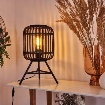 MONGOLEI Table lamp black, 1-light source