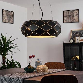 SHOUVER Pendant Light black, 3-light sources