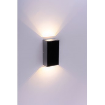 Paul Neuhaus Q-DARWIN Wall Light LED anthracite, 2-light sources, Remote control, Colour changer