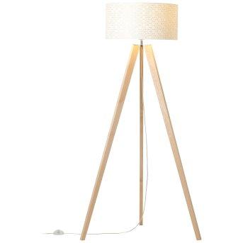 Brilliant GALANCE Floor Lamp Light wood, 1-light source