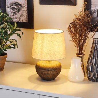 EXCHANGE Table lamp brown, 1-light source