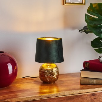 BEDDIE Table lamp gold, 1-light source