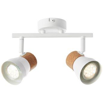 Brilliant MOKA Spotlight white, 2-light sources