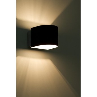 Ideallux Puzzle AP1 wall light black, 1-light source
